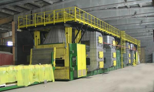 岩棉固化炉生产线